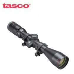 Tasco Sportsman 3-9×40 Truplex & Weaver Rings.