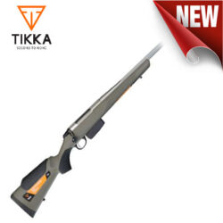 Tikka T3x Aspire Lite Green, Stainless Fluted Rifle.