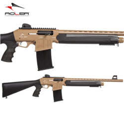 Adler B230T Tactical FDE Straight Pull Shotgun.